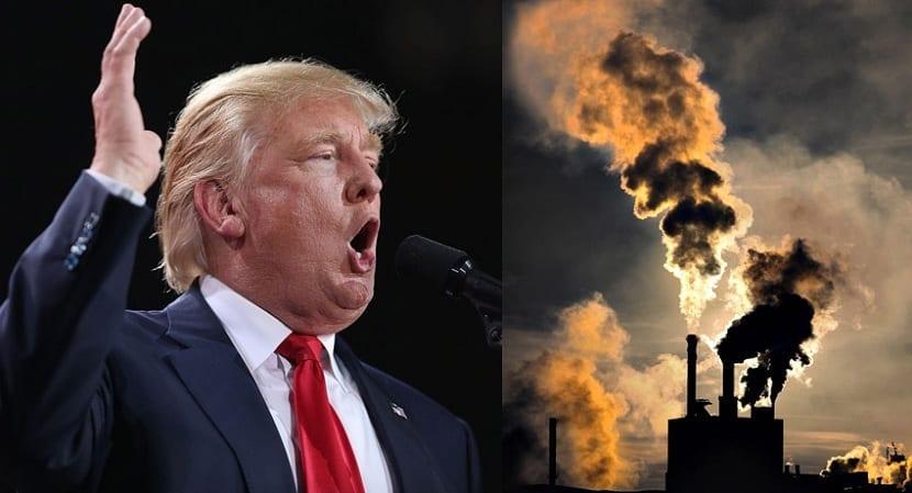 Trump cambio climático