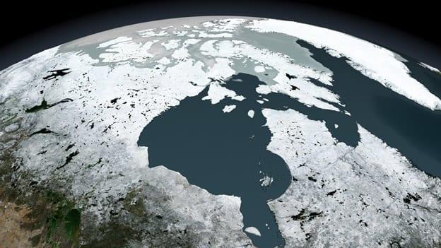 Cambio climático. Deshielo