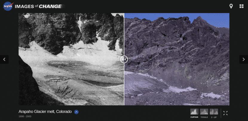 Glaciar Arapaho en Colorado