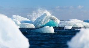 Hielo del Ártico