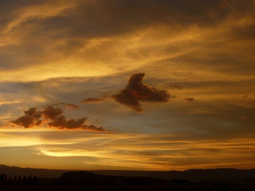 Amanecer en el desierto de Atacama