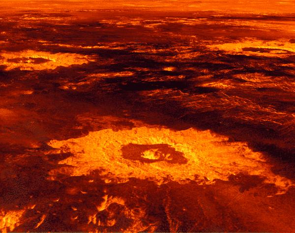 crateres venus