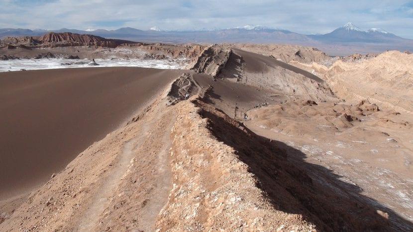 Montaña del desierto de Atacama