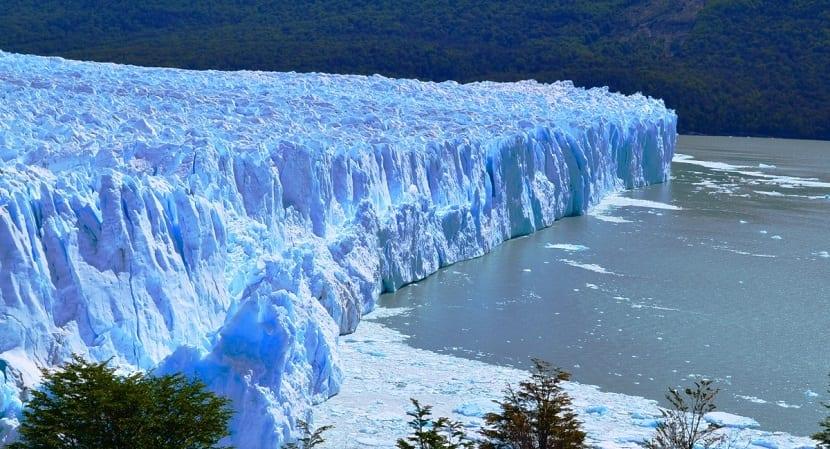 glaciares de la zona austral