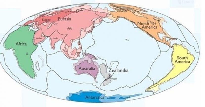 Zelandia localizado en el mapa