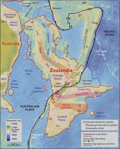 Localización de Zelandia