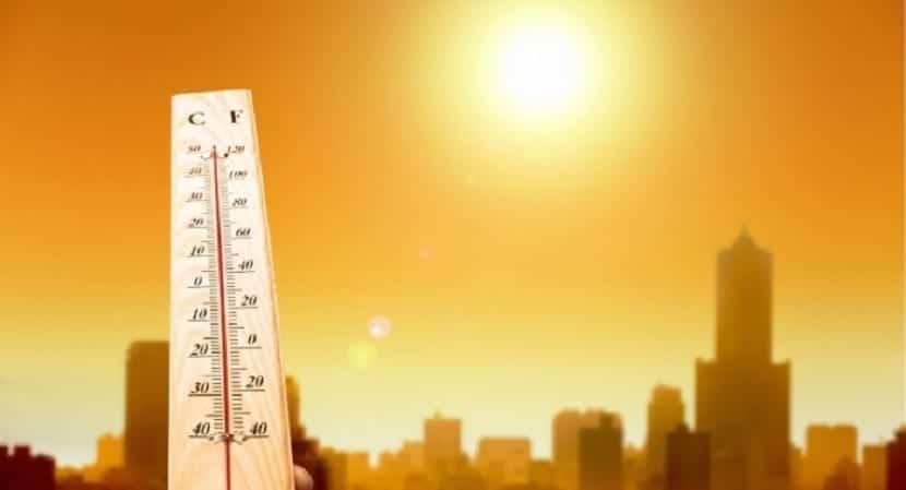 aumento de temperatuas por el cambio climatico