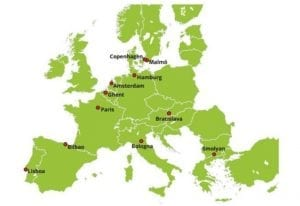 Ciudades europeas que se preparan para el cambio climatico