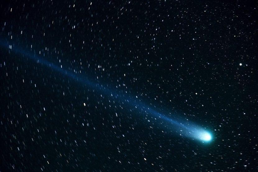 Imagen de un cometa
