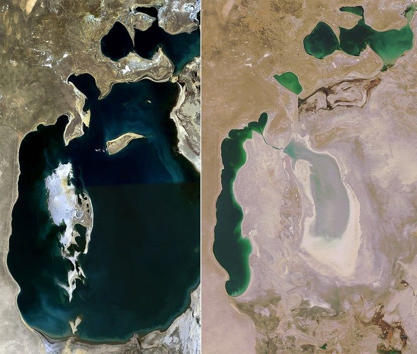 el cambio climático y la accion humana acaban con el mar muerto