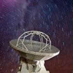 Lluvia de estrellas y el telescopio ALMA