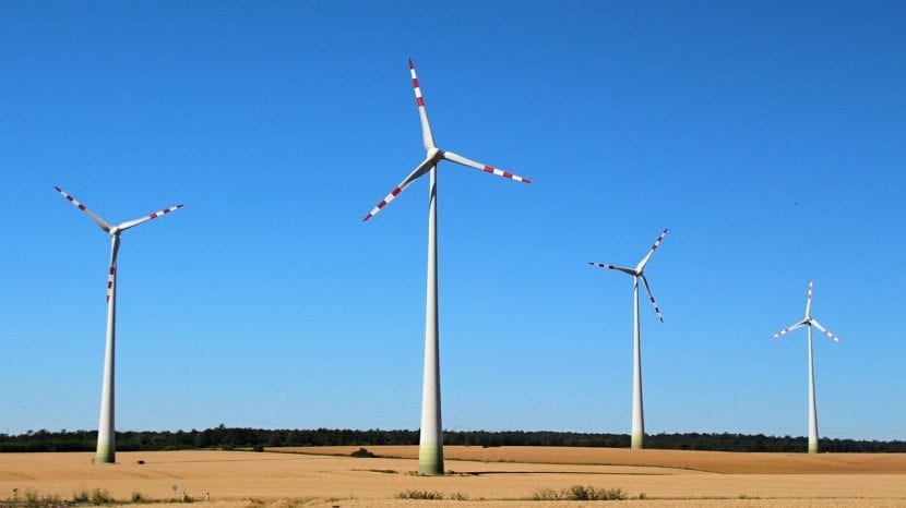 Molinos de viento, generadores de energía eólica