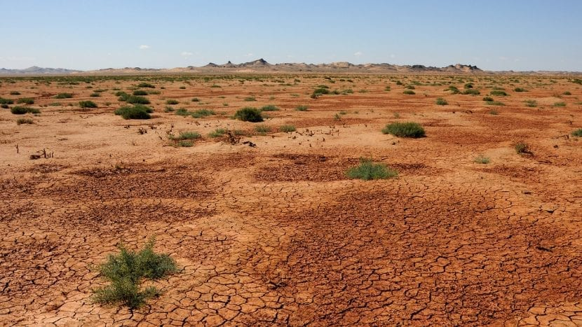 Desierto del Gobi en Mongolia