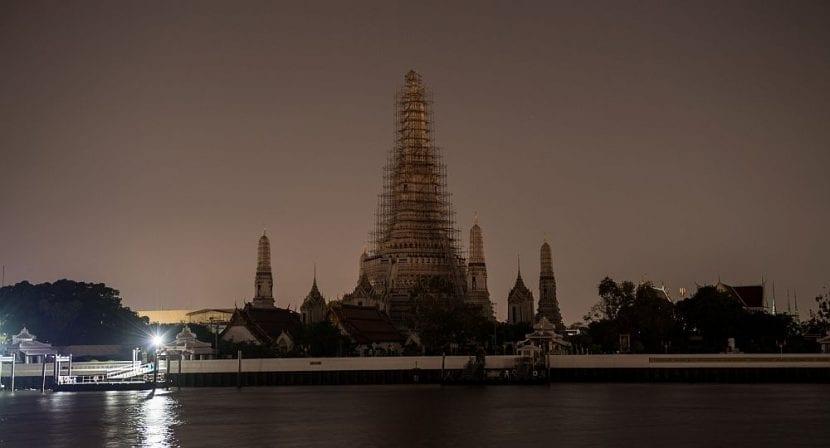 Templo Wat Arun, en Bangkok