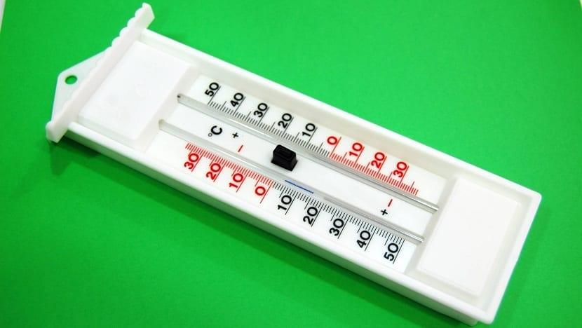 existen distintos tipos de termómetros y escalas de medida