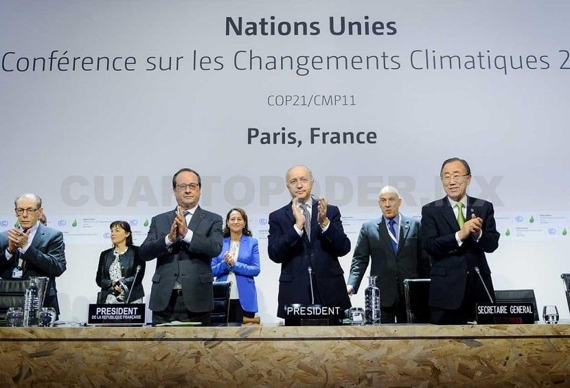 La lucha contra el cambio climático y el Acuerdo de París