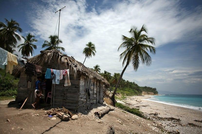 El caribe y otras islas pequeñas se verán afectadas por el aumento del nivel del mar