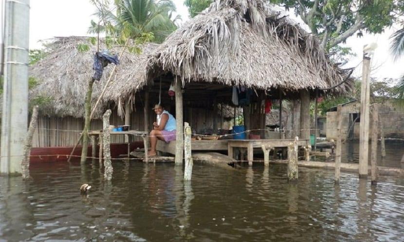 inundaciones colegio de El Torno