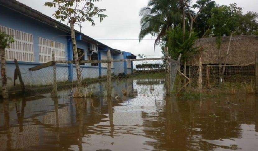 El cambio climático provoca inundaciones en El Torno