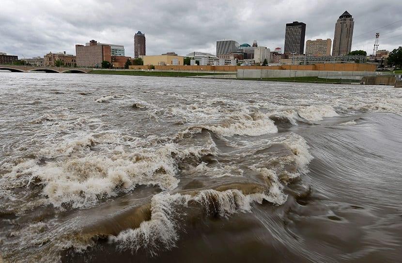 El cambio climático genera un aumento de las inundaciones