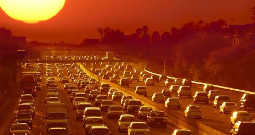 ola de calor producida por el cambio climático