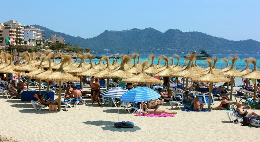 Playa de Cala Millor en Mallorca