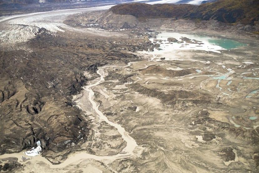 el rio Slims desaparece en 4 dias