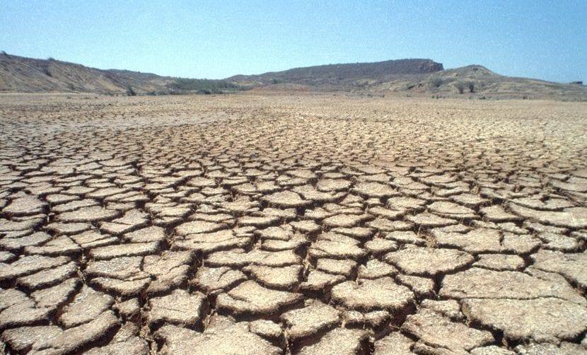 El cambio climático aumenta las sequías