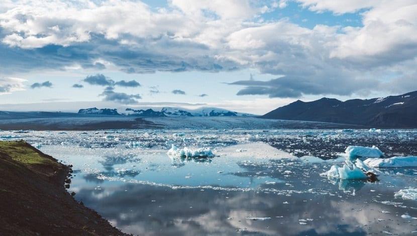 glaciares de los polos