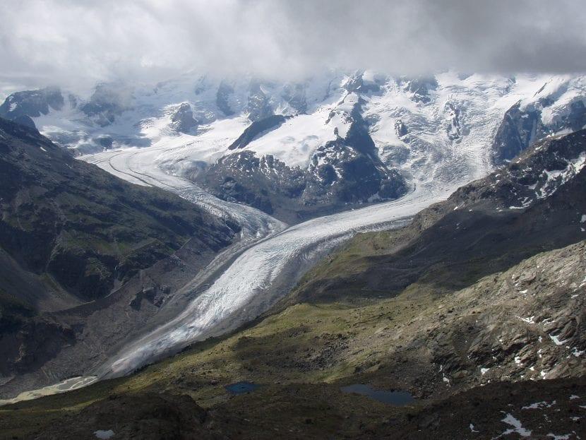 Glaciar Morteratsch