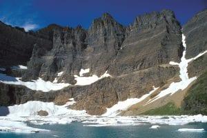 Glaciares en parque de Estados Unidos
