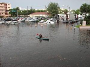 Inundación en Miami