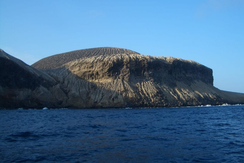 Isla San Benedicto, en México