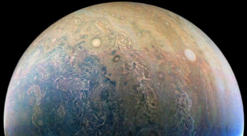Los ojos de Júpiter