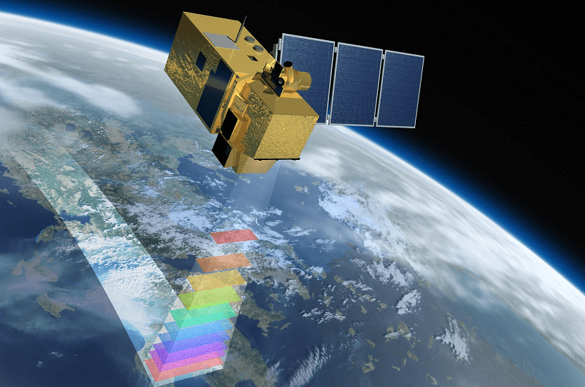 satelites de observacion para los glaciares