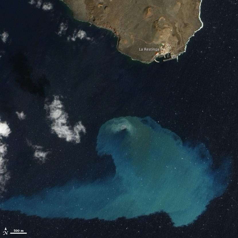 Volcán submarino de El Hierro (Islas Canarias)