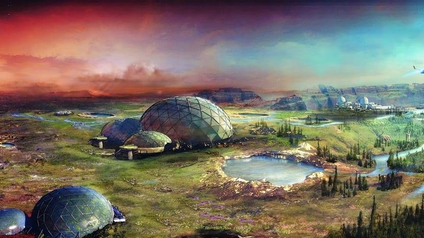 terraformación de Marte