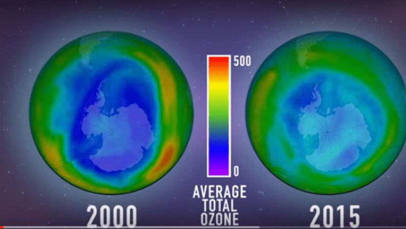 La capa de ozono ha sufrido daños debido a lso CFCs pero ya se está recuperando