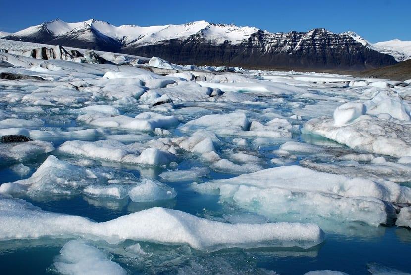 derretimiento de casquetes polares