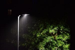 lluvia en la noche