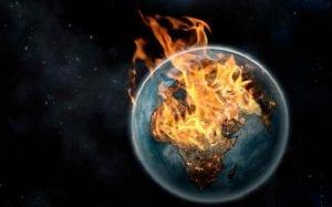 la tierra aumenta su temperatura cada vez más