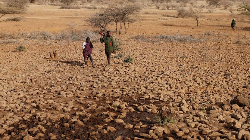 sequia en kenia