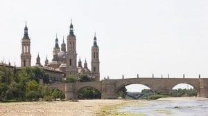 las sequias producidas por el cambio climático secan el rio ebro