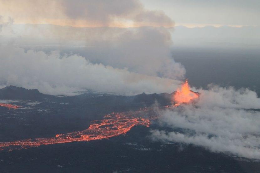 Volcán islandés