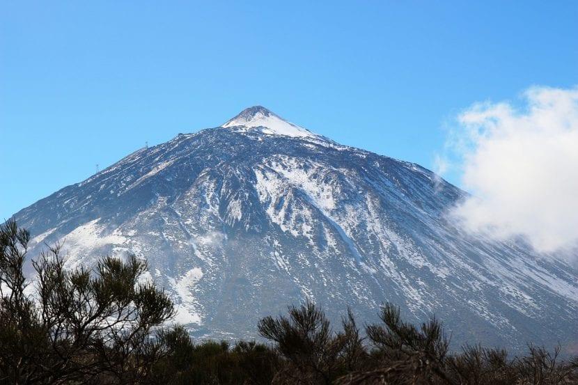 Volcán Teide, en Tenerife