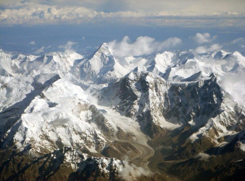 Montañas de Central Tian Shan