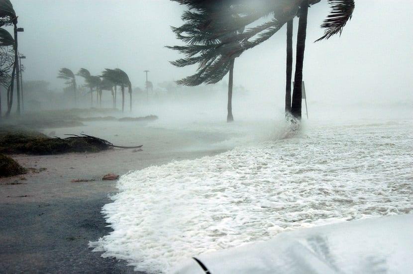huracan vientos