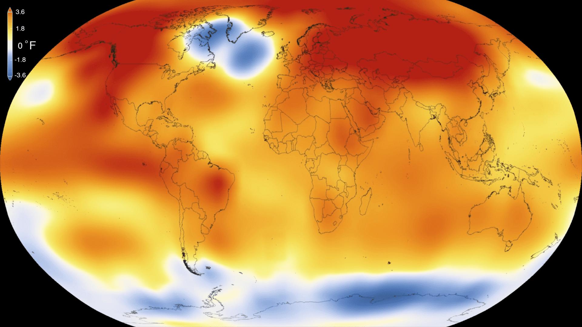 Anomalías térmicas del año 2015
