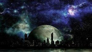 ciudad futuro espacio