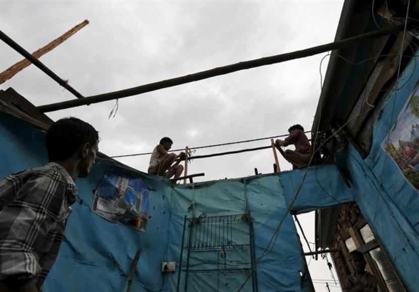 Construcción de una vivienda ecológica en la India